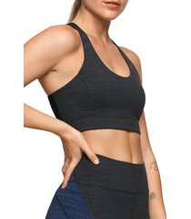 outdoor voices doing things sports bra, size large in night at nordstrom