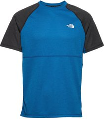 m varuna s/s tee t-shirts short-sleeved blå the north face