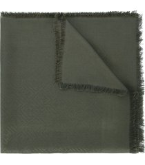 fendi signature shawl - green