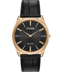 reloj eco-slim dorado citizen