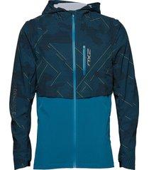 ghst woven 2 in 1 jacket-m outerwear sport jackets blauw 2xu