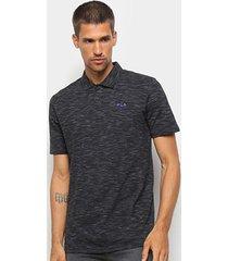 camisa polo fila essential masculina