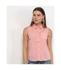 camisa regata adooro! lisa bolso feminina