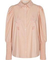blouse met pofmouwen marie  roze