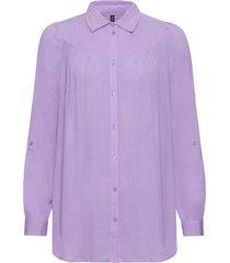 camicia lunga (viola) - rainbow