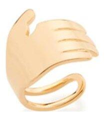 brinco bijoulux piercing de pressão ear cuff mão semi jóia