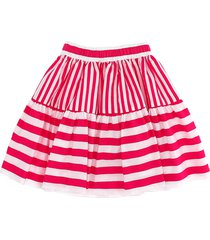 monnalisa striped long skirt
