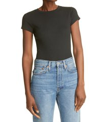 club monaco bowee t-shirt, size xx-small in black at nordstrom