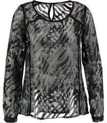 garcia blouse polyester viscose