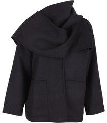 jovonna london nubuck wool coat