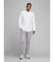 jack & jones overhemd 12163855 white - wit