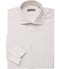 cotton & linen dress shirt