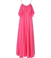 forte forte habotai silk dress with straps