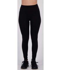 calça legging lupo underwear warm feminina preta
