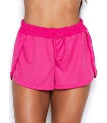 short toda casual moda praia rosarosa