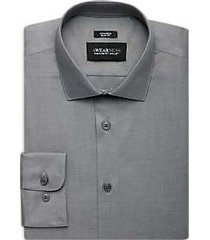awearness kenneth cole charcoal slim fit dress shirt