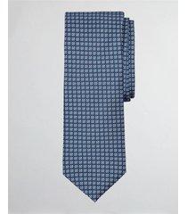 corbata geometric print azul brooks brothers