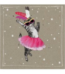 "hammond gower fancy pants cats v canvas art - 27"" x 33"""