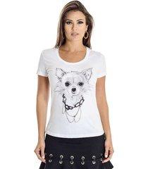 t-shirt chihuahua ana hickmann