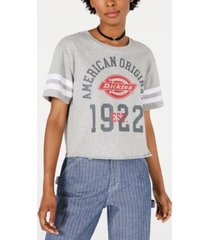 dickies cropped graphic varsity t-shirt