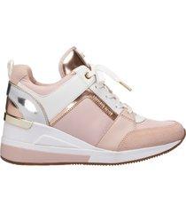 scarpe sneakers donna in pelle georgie