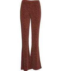 camoua trousers 12821 utsvängda byxor brun samsøe samsøe