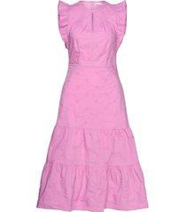 flutter midi dress knälång klänning gap