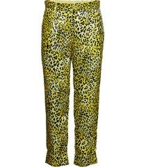 narethe pantalon met rechte pijpen geel baum und pferdgarten