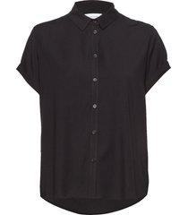 majan ss shirt 9942 kortärmad skjorta svart samsøe samsøe
