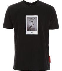 marcelo burlon rose square t-shirt