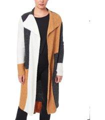 joseph a women's drape collar coatigan sweater