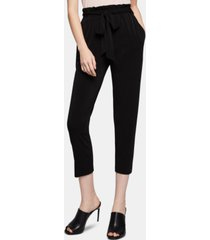 bcbgeneration tapered tie-waist pants