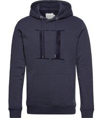 encore bouclé hoodie hoodie trui blauw les deux