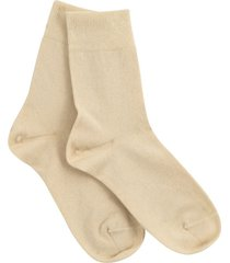 katoenen sokken uit biologisch katoen in een dubbelpak, natuur 35/36