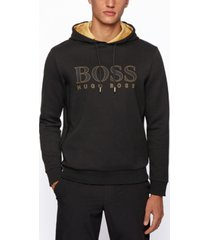boss men's soody hooded sweatshirt