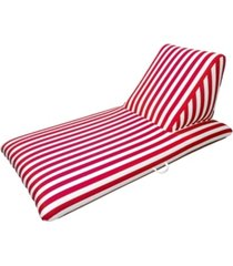 drift and escape red pool chaise lounge - morgan dwyer signature