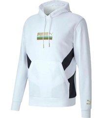 buzo blanco puma tailored for sport