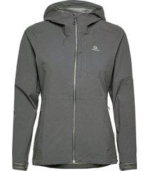 outrack wp jkt w ebony outerwear sport jackets blå salomon