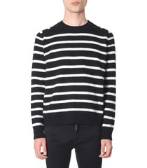 saint laurent striped sweater