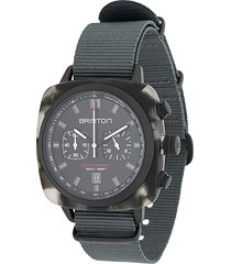 briston watches clubmaster sport alpine hunter watch - black
