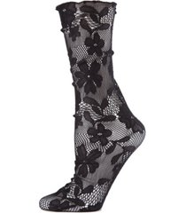 women's garden splash ankle socks
