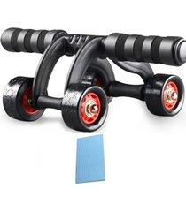 cuatro ruedas rodillo ejercicio abdominal ab body fitness entrenamient