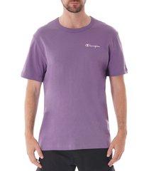 logo crew t-shirt - lilac 211985-mgp