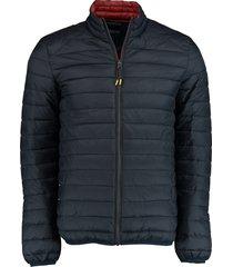 bos bright blue tussenjas puff jacket blauw rf 20301ja03bo/290 navy