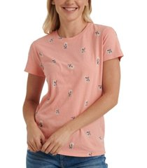 lucky brand essential printed t-shirt