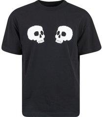 palm angels skulls t-shirt