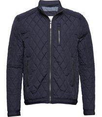 rocky balboa jacket doorgestikte jas blauw seven seas copenhagen