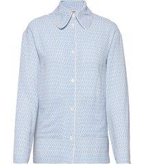 benji overhemd met lange mouwen blauw baum und pferdgarten