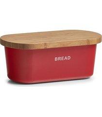 chlebak z deską do krojenia red