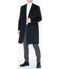 topman frazer coat jackor navy blue